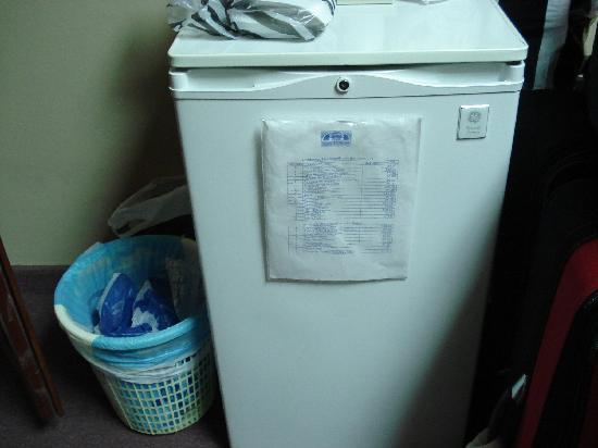 Aloha Sol Hotel: Small Refrigerator