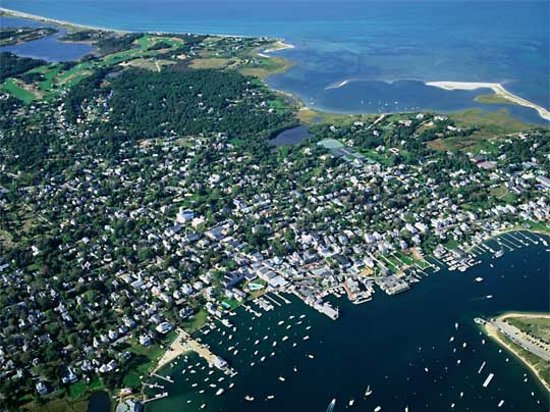 Martha's Vineyard, MA: Vineyard by Air