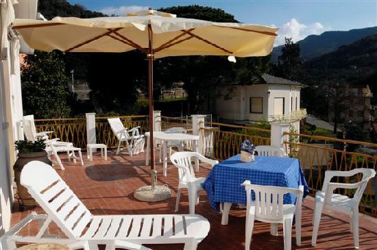Hotel Eva La Romantica: terrasse