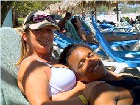 Puerto Plata Village Resort: moi et mon popeye