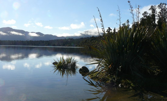 Lake Moeraki, New Zealand: Lake Paringa