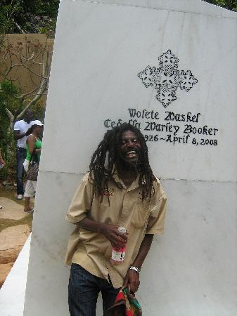 bob marleys mothers new tomb picture of nine miles