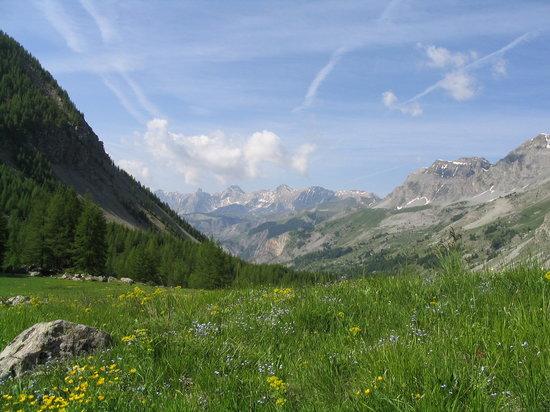 Rhône-Alpes, Frankrike: alpen