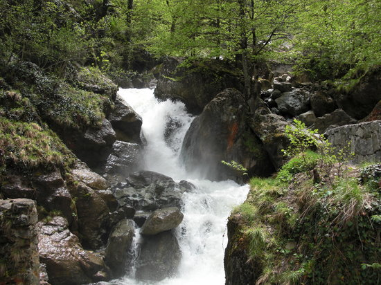 Trabzon, Turcja: Nearby Waterfall