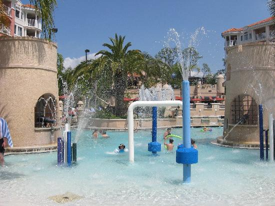 Marriott's Grande Vista: Splash pad
