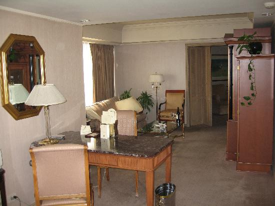 Park Tower: Living room