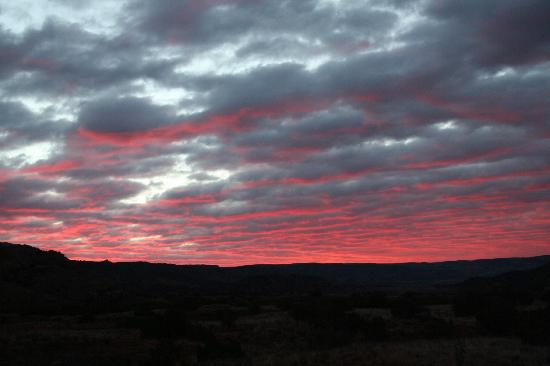 Palo Duro Canyon State Park: Catching the sunrise