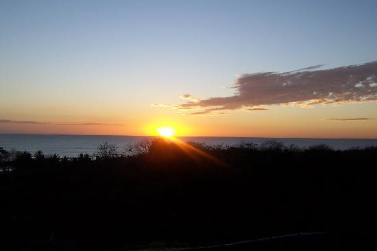 Horizon Ocean View Hotel and Yoga Center: Sunset from our deck
