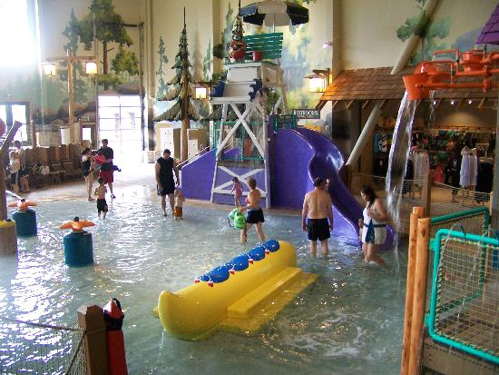 Great Wolf Lodge: kiddie area