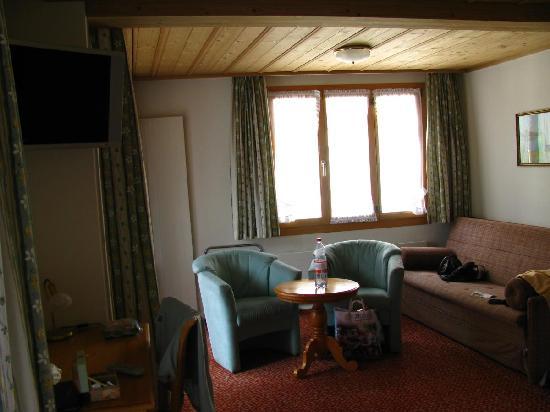 Hotel Hirschen: Sitting Area