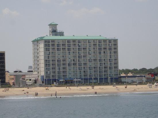Boardwalk Resort Hotel And Villas From Atlantic Ocean