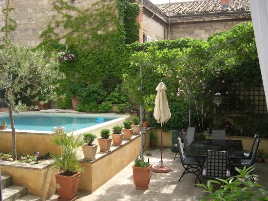 Villa Agape : Le patio