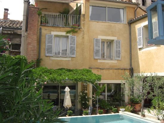 Villa Agape : La terrasse de la chambre haute