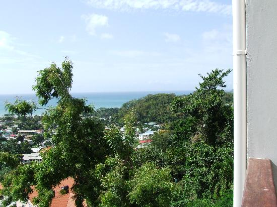Bel Jou Hotel: Typical view from room