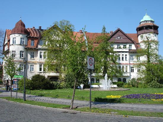 Landhaus Schlachtensee: Neighbourhood of the hotel