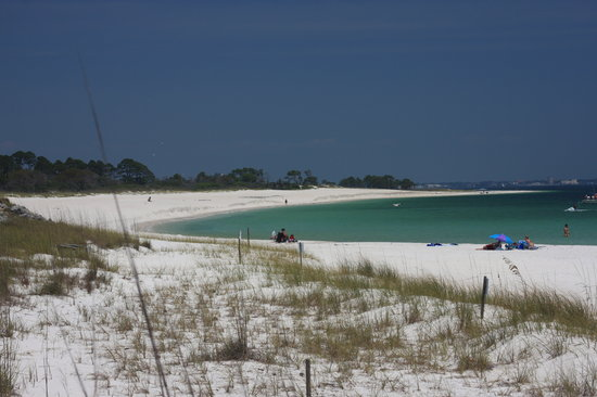 Panama City, FL: This beach is accessible by car