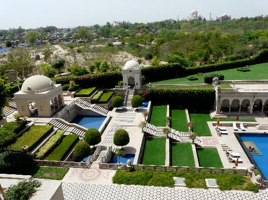 The Oberoi Amarvilas: room view