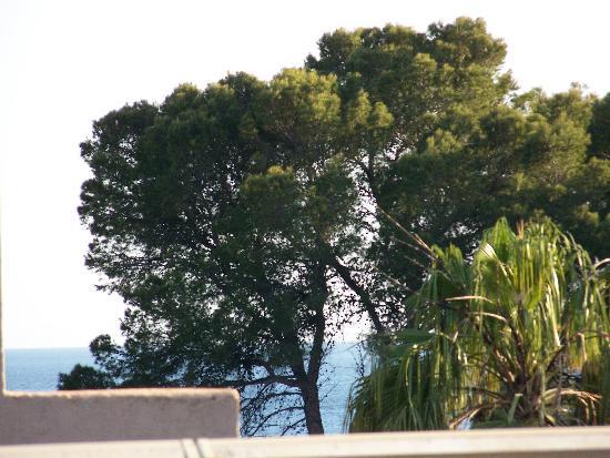 Hotel Celo Garden: Vom Balkon mit ZOOOOM zum Meer