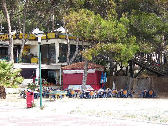 Hotel Celo Garden: Strandkiosk vom Restaurant