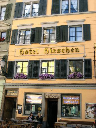 Hotel Hirschen: Aussenfassade Hotel
