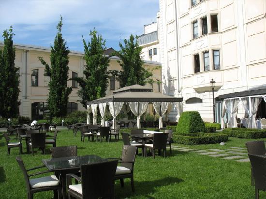 Grand Visconti Palace: Jardin