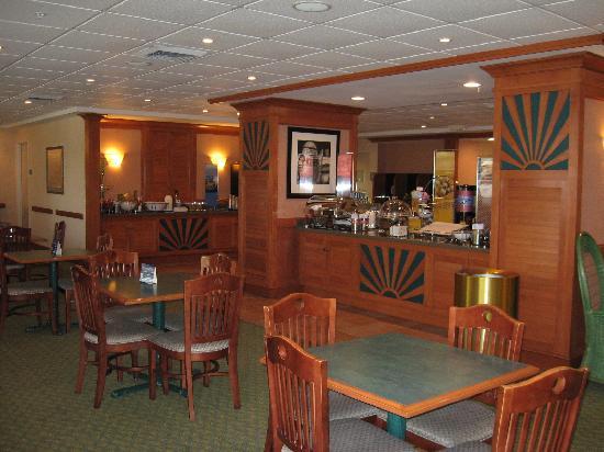Hampton Inn Ft. Lauderdale-Commercial Blvd.: Breakfast area