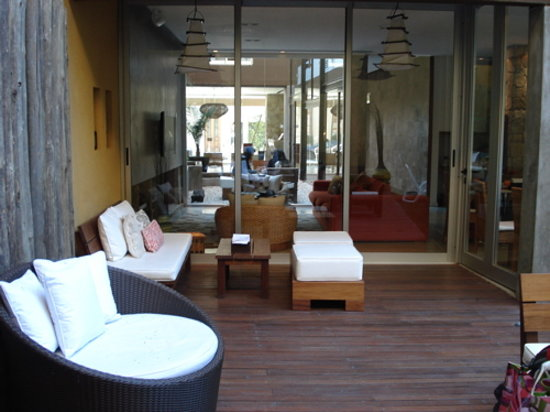 Mine Hotel Boutique: outdoor area