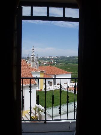 Hotel Real d'Obidos -- view from the hotel room