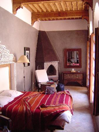 Riad Dar Zahia: Habitación