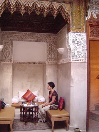 Riad Dar Zahia: Patio