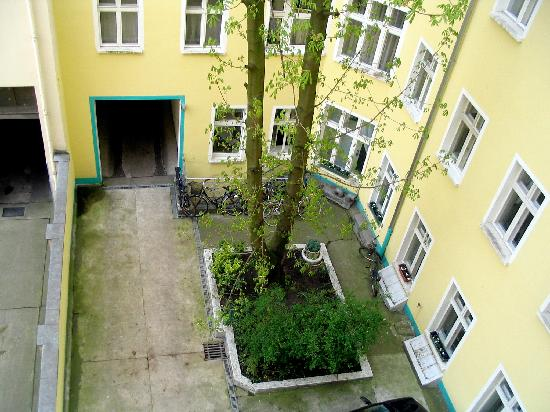 Hotel Greifswald: View of the 2nd Hof (courtyard
