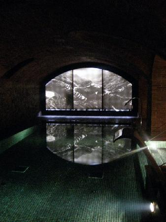 Hotel 1898: Grotto Swimming Pool in Basement