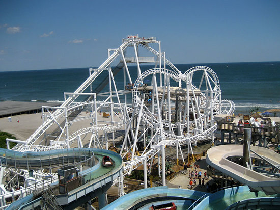 Morey's Piers and Beachfront Water Parks: Surfside including The Great Nor Easter