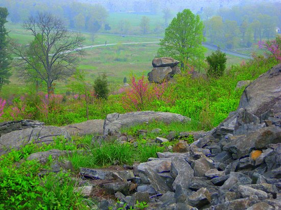 Gettysburg, Пенсильвания: Little Round Top