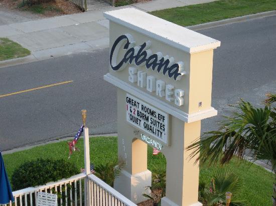 Sign Picture Of Cabana Ss Hotel Myrtle Beach Tripadvisor