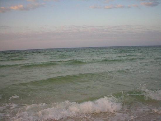 Hampton Inn Ft. Walton Beach: ocean on the island