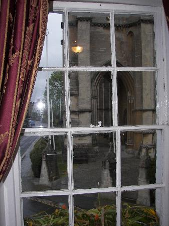 St Mary's Gate Inn: View from one of the Cathedral room windows.