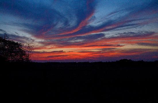 Sunset #2 near La Anita Rainforest Ranch