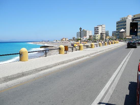 Hotel Athena: The nearest beach