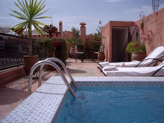 Riad le Clos des Arts: la petite piscine