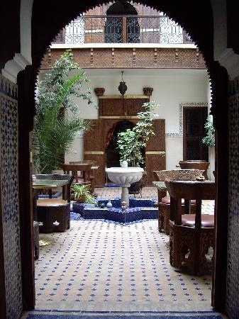 Riad le Clos des Arts: le patio