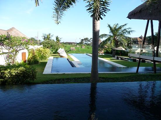 The Samata: The view fro the Spa
