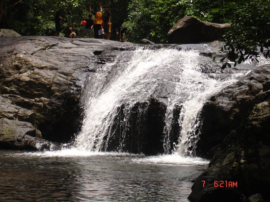 Cha-am, Thailand: waterfall