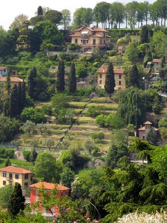 Hotel Piazza Vecchia: Beautiful countryside - from old fort at top of town