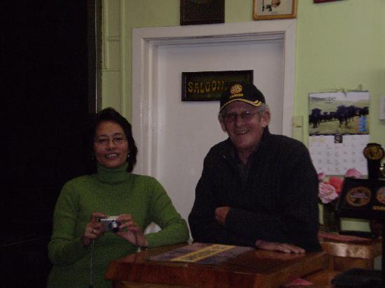 Peter & Lilia At The Masonic Tavern