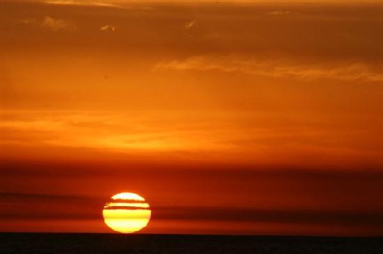 Hotel Yeruti: puesta de sol en La Paloma - La Balconada
