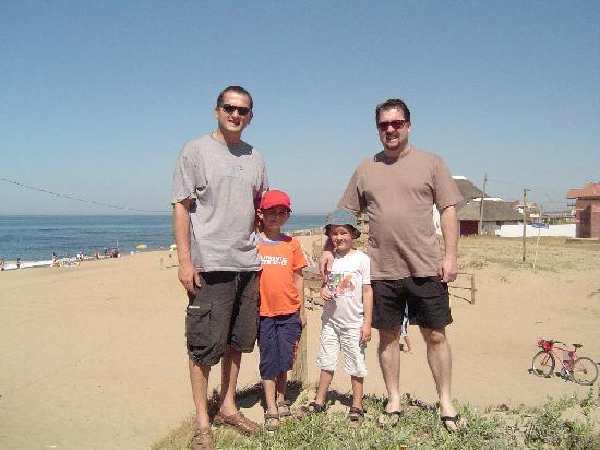 La Paloma, Uruguay: con la Playa La Balconada al fondo