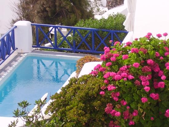 Ikies - Traditional Houses: the pool , small but all that you need