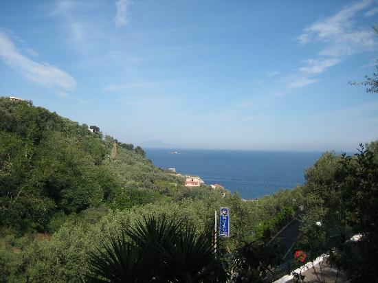BEST WESTERN Hotel La Solara: view from the terrace