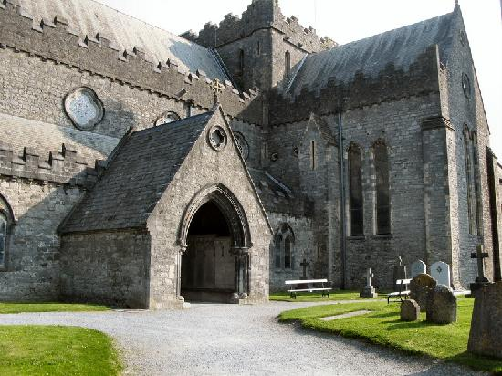St. Canice's Cathedral & Round Tower : Partial look at the exterior